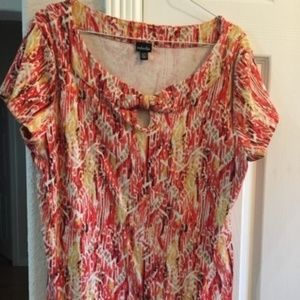 Rafaella short sleeve top XL
